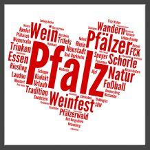 Aufkleber: Pfalz-Herz
