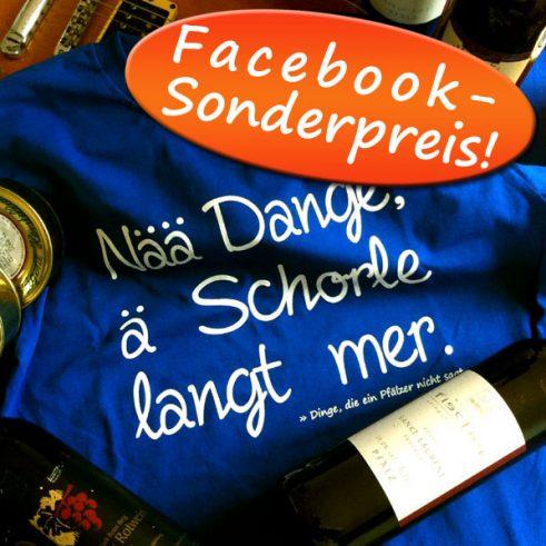 Pfalz-Shirt: Schorle (Sonderpreis!)